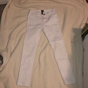 white never used gap jeans, kids 12